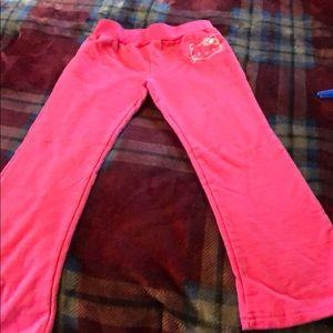 Girls jogging pants